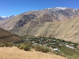 Valle del Elqui, where we spent Chilean Independence Day